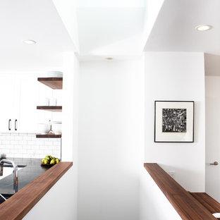 Идея дизайна: лестница в стиле ретро
