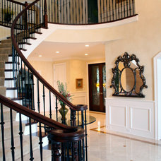 Traditional Staircase by Celeste Jackson Interiors, Ltd.
