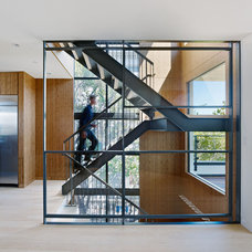 Modern Staircase by Moroso Construction