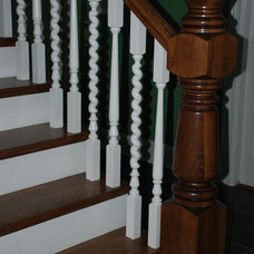 traditional staircase by Architectural Wood Designs