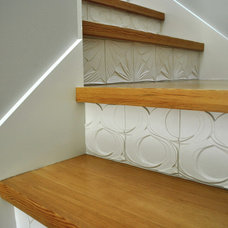 Contemporary Staircase by Stephanie Dyer Interior + Product Design