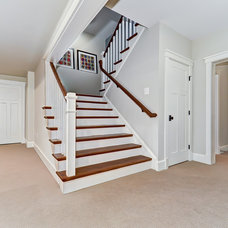 Traditional Staircase by Tradition Homes