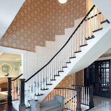 Traditional Staircase by Bardes Interiors