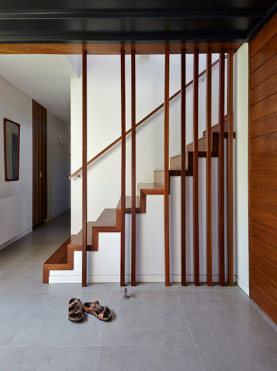 Contemporary Staircase by Adam Dettrick Architects