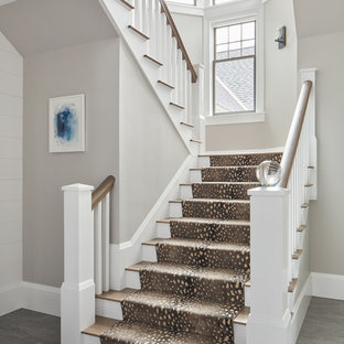75 Most Popular Beach Style Staircase Design Ideas For