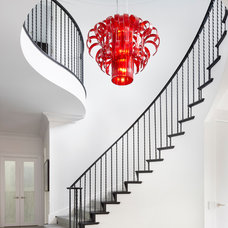Contemporary Staircase by Blutter Shiff Design Associates