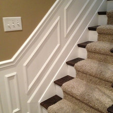 Traditional Staircase by Majestic Home Solutions LLC