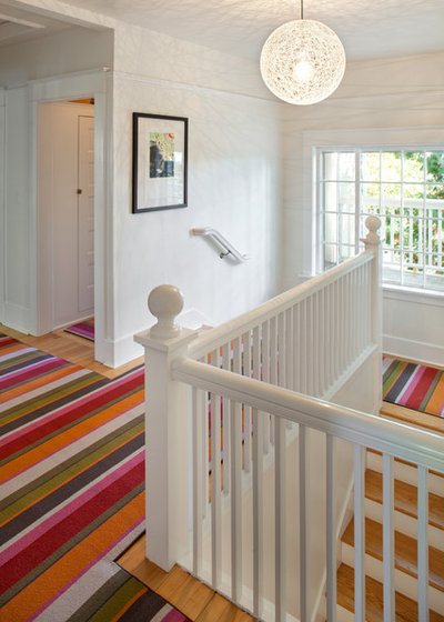 Eclectic Staircase by Vanillawood