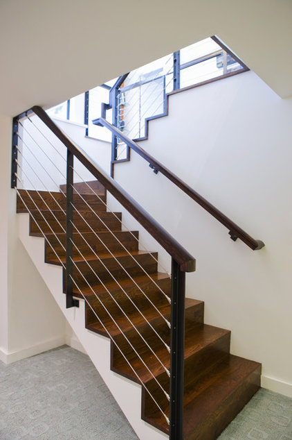 Modern Staircase by Vanillawood