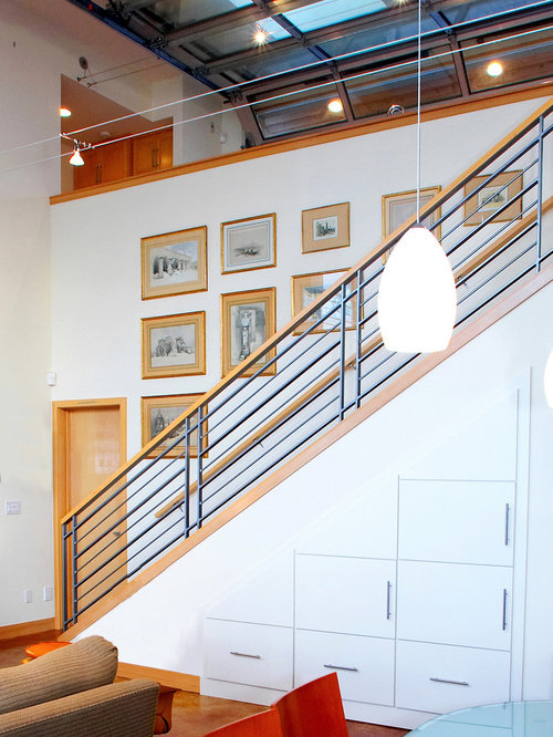 Cheap metal stair railing ideas pictures remodel and decor