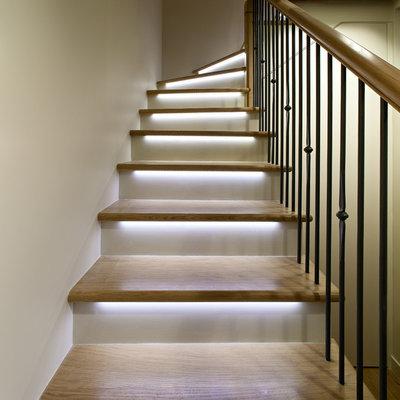 Eclairage Marche Escalier Interieur. Attrayant Eclairage Marche