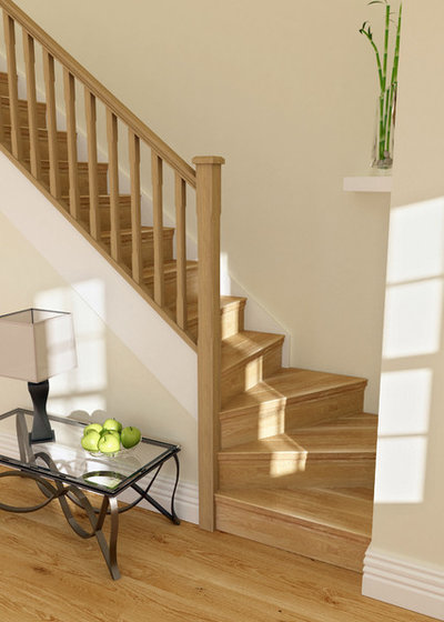 Stairway To Style Great Ways To Update Your Railings And