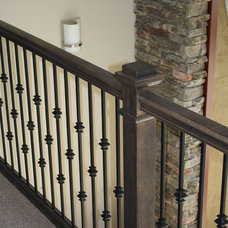Contemporary Staircase by Justin Doyle Homes