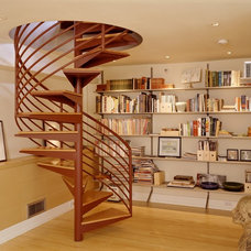 Contemporary Staircase by Michael Mullin Architect