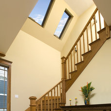 Traditional Staircase by Northlight Architects LLC