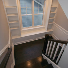 Traditional Staircase by Oakley Home Builders