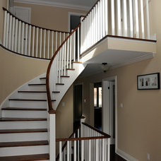 Traditional Staircase by House Tune Up