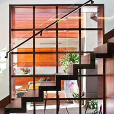Contemporary Staircase by McRae Lambert & Dunn