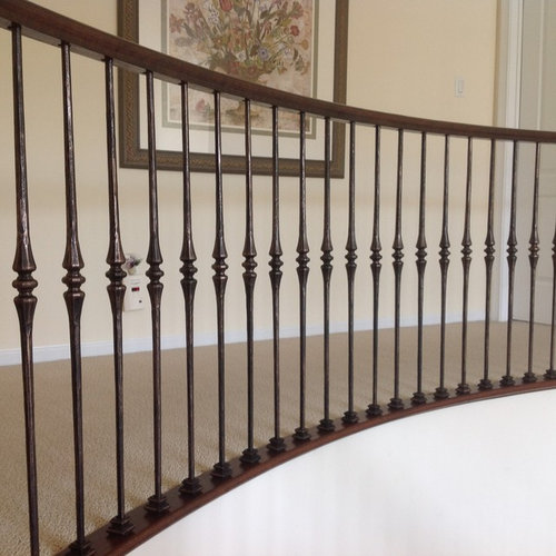 oil rubbed bronze balusters