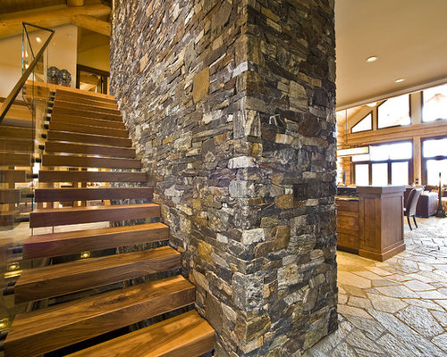 Open Stair Treads Ideas, Pictures, Remodel And Decor