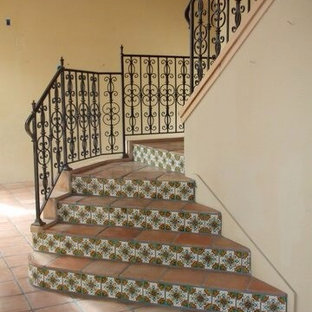 Old California Staircase