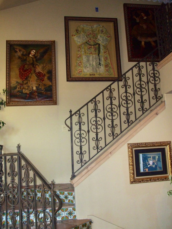 Old California Style Staircase