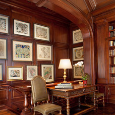Traditional Staircase by Jane Antonacci Interior Design