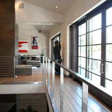 Contemporary Staircase by KFR Design