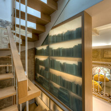 Mediterranean Staircase by MJMDA, Matthew James Mercieca Design Architects