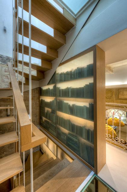 Mediterranean Staircase by MJMDA, Matthew James Mercieca Design Architects