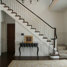 Traditional Staircase by Amy Werfel Interiors