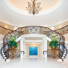 Traditional Staircase by David Small Designs