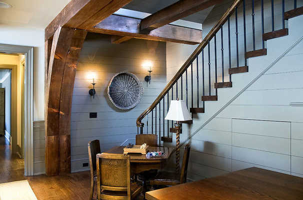 Traditional Staircase by Wright Design