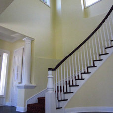 Eclectic Staircase by B. Eilers Designs
