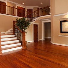 Traditional Staircase by AJEMCO, INC.