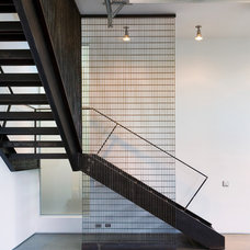 Modern Staircase by E. Cobb Architects