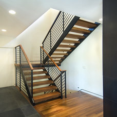 Modern Staircase by White Space Architecture