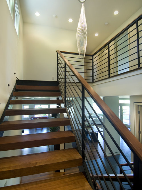 Open Stair Rail Home Design Ideas Pictures Remodel And Decor