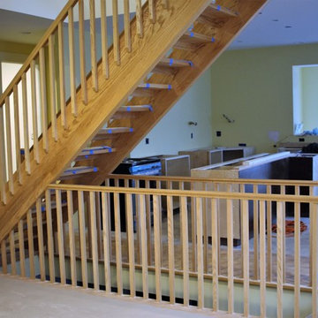 Open Rise Free Standing Stair