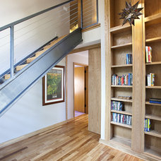 Contemporary Staircase by Lewand Custom Homes