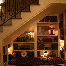 Traditional Staircase by Albertine Company, LLC