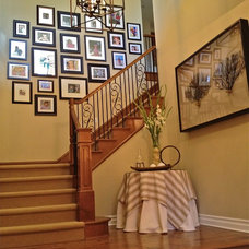 Traditional Staircase by Chelsea Pineda Interiors