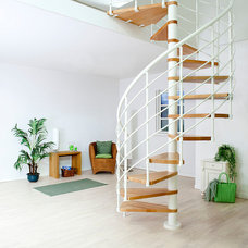 Contemporary Staircase by Dolle USA