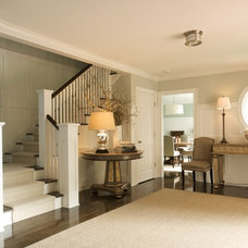 Traditional Staircase by C.H. Newton Builders, Inc
