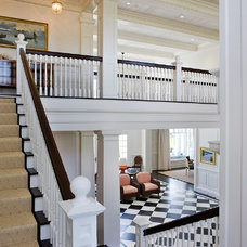 Traditional Staircase by Catalano Architects