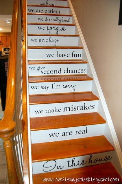 Eclectic Staircase Our Family Is,,,