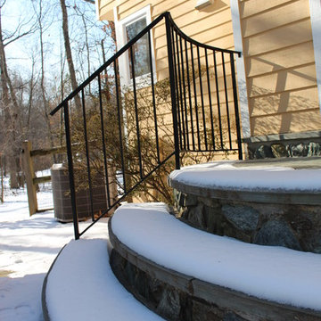 Outdoor Stair and Rails