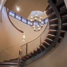Contemporary Staircase by Kelly & Stone Architects