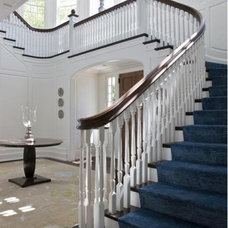 Traditional Staircase by SLC Interiors