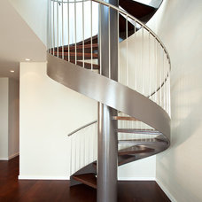 Modern Staircase by Matarozzi Pelsinger Builders